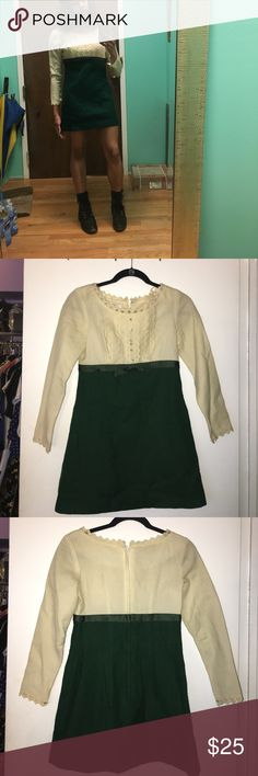 """VINTAGE 60's mini shift dress Petites by Siro Vintage 60's dress Waist 26"""". Length ( from waist)  19"""" sleeves 21"""". Bust 32"""".  Best for size 0-2 but smaller chested size 4 CAN wear. I wear size 4..  armpits need to be stitched but in very good condition to be vintage Petites by Siro Dresses Mini"""