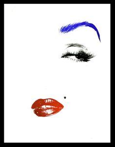 ❤Marilyn Monroe Art ~*❥*~❤ illustrations