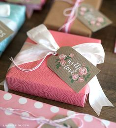 printable Spring gift tags from Lia Griffith