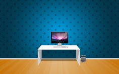 Apple Room - Optimised for the Retina display - 2880 x 1800 Bling Wallpaper, Hd Wallpaper Desktop, Apple Wallpaper, Blue Wallpapers, Room Wallpaper, Computer Wallpaper, Interior Designers In Hyderabad, Apple Images, Apple Picture