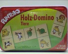 Holz-Domino Tiere 28 Teile ab 3 Jahre ISH 60545300   Your #1 Source for Toys and Games