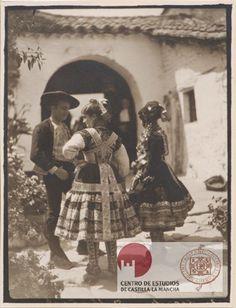 Francisco Andrada. Tipos de Lagartera (Toledo). Aprox. 1930