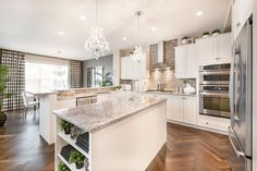 Kitchen -  - Colour scheme - Stainless steel - Counter colors - Backsplash - Grey wall