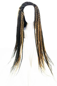 32 inch box-braided adjustable lace front wig....