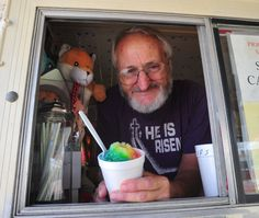 Richard Giro has owned Snowball Express in Bastrop, Texas, for 13 years. Photo by Terry Hagerty Photography