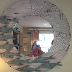 Fish mirror from Cape Cod