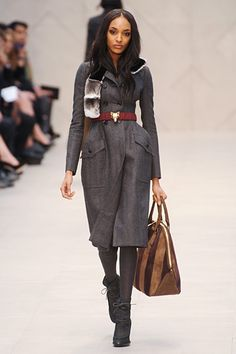The belt, the bag, the shoes- Burberry Prorsum Fall 2012 RTW