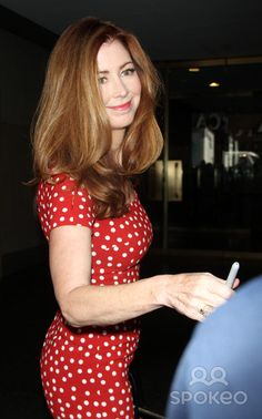Asset Caption|Dana Delany at NBC's Today Show promoting her new tv series 'Hand of God'