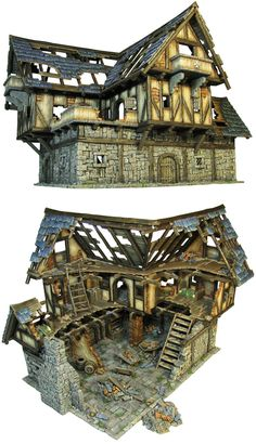 Tudor House Ruins  | Timber Trails: Turnkey tiny house, cabin kits, and custom cottage designs built of super-efficient, affordable, and easy-to-finish structural insulated panels (SIPs). Go to >> TimberTrails.TV