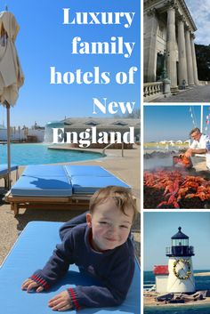 Summer in New England. Read our photo reviews of the best family hotels and resorts in Massachusetts, Rhode Island, Vermont, and New Hampshire