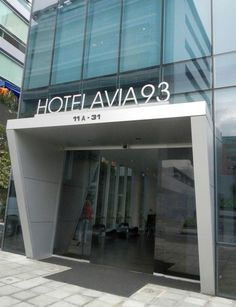 Hotel Aviá 93, ultra modern luxury in downtown Bogota Colombia
