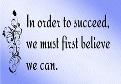 ❥ Only Believe...