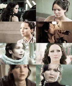 Katniss is broken because of the games. Katniss is tortured. Katniss is traumatized. And this is only the middle of her torture. I hate the games. She deserved better.