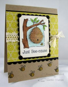 Tree Hive Clear Stamp set by Kendra Wietstock (Hambo Stamps)