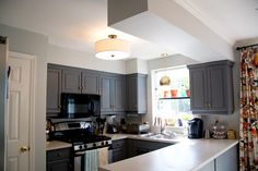 Flush mount kitchen lighting, 10 foto   Kitchen design ideas blog