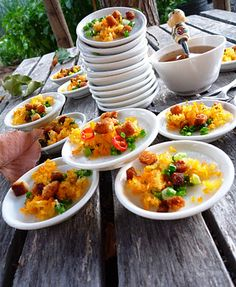 The Spices Of Life . . . Bánh Bèo (crispy shrimp and pork on steamed rice batter), with recipe