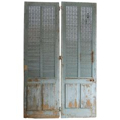 1stdibs.com | Pair of  French Painted  Exterior Doors