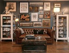 home decor Everything you need to know to plan a trip to Jackson Hole Goop Is Private School right f Living Room Paint, New Living Room, Living Room Decor, Manly Living Room, Man Cave Living Room, Masculine Living Rooms, Man Cave Room, Man Cave Home Bar, Piece A Vivre