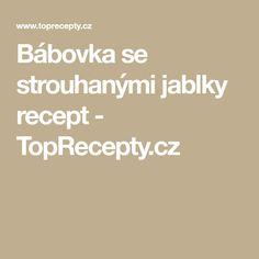 Bábovka se strouhanými jablky recept - TopRecepty.cz