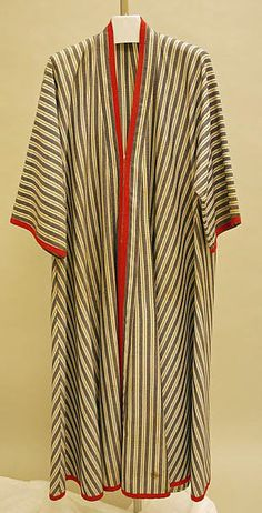 Caftan Design House: House of Lanvin (French, founded Designer: Jules François Crahay (French, Date: ca. 1970 Culture: French Medium: wool Dimensions: Length at CB: 56 in. Abaya Fashion, Fashion Dresses, Punk Fashion, Lolita Fashion, French Fashion, Vintage Fashion, Kaftan Style, Mode Abaya, Abaya Designs