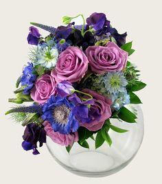 Blue Bouquets » En Masse Flowers