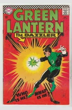Green Lantern #49 strict VF 8.0 High-Grade 1st Appearance - The Dazzler