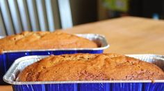 You might as well bake pumpkin bread in the large batch called for here, because everyone loves it. Three full-sized loaves, lively with cinnamon, cloves and nutmeg, are your reward. Wrap loaves in cellophane, tie with a colorful ribbon, and give as a gift!