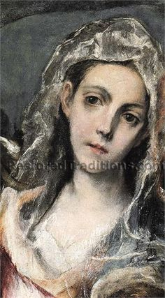 El Greco.  Oh how I love that face!