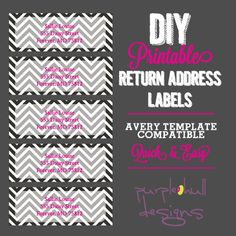 Best Return Address Labels Images On Pinterest Label Templates - Return address label template