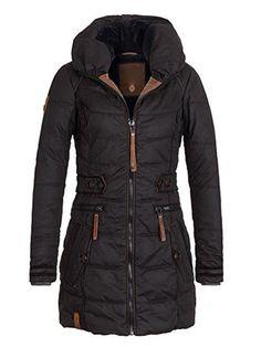 2018 chaqueta de invierno para mujer talla grande Parkas gruesas prendas de  abrigo sólido con capucha f5e21434e5875