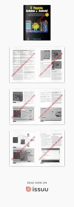 """Lleno de aplicaciones prácticas y fáciles de realizar, """"12 Proyectos Arduino + Android"""" muestra cómo crear dispositivos Arduino y controlarlos desde su teléfono smartphone o su tableta. Todos los proyectos del libro utilizan piezas y componentes fáciles de encontrar."""