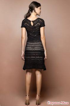 Как много в этом слове *Королева*. Платье уже не новое, но слишком заманчивое для многих Рекомендуемая пряжа: - хлопок с добавками - вискоза - шелк