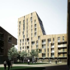 OPERASTUDIO - Project - Medici del Vascello 14 Social Housing #Milan #render
