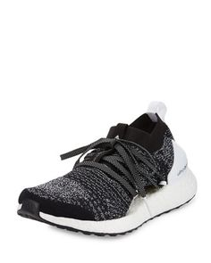 Ultra Boost X Knit Sneaker, Black/White by adidas by Stella McCartney at  Neiman