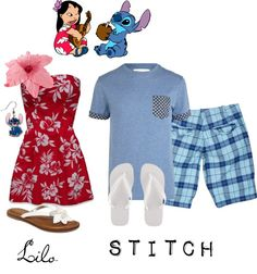 """""""Lilo and Stitch!"""" I need to find a guy to dress up as the stitch part..(:"""