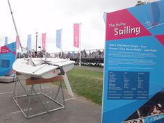 4th August Olympic Sailing Weymouth. The Boat Park On The Nothe