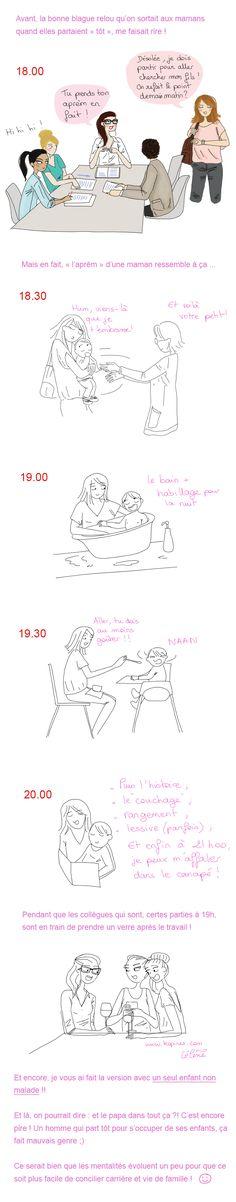 maman et travail