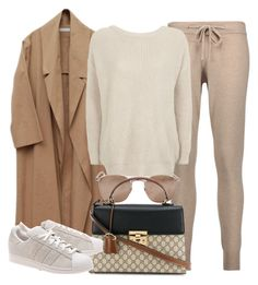 Sin título #11776 by vany-alvarado on Polyvore featuring polyvore fashion style Topshop Chinti and Parker adidas Originals Gucci Linda Farrow clothing