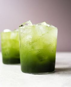A refreshing green tea soda made with matcha powder. An easy-to-follow recipe that combines matcha syrup and carbonated water. A great alternative to soda!