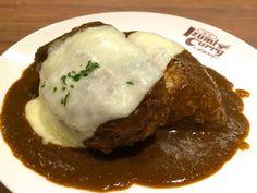 [ 台北 ] Izumi Curry 12盎司起司漢堡咖哩飯 : 胖大叔 Mr. Fat Uncle