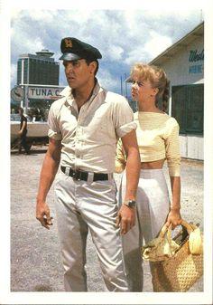GIRLS, GIRLS, GIRLS -  Elvis Presley & Laurel Goodwin - Paramount -  Publicity Still.