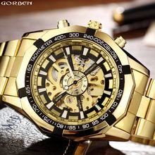 Men's Watches Cool Design Mechanical Watch Men Self Wind Analog Wristwatches Mens Skeleton Dress Automatic Watches Relojes Mecanicos To Help Digest Greasy Food
