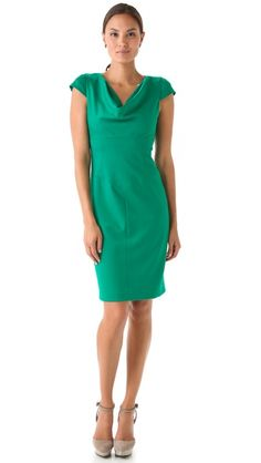 I want this in a different color...Black Halo Gretchen Dress