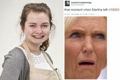 17-year-old Martha left Great British Bake Off last night, and Twitter