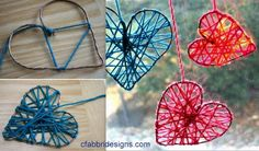 Découvrez comment faire de jolis coeurs en laine à suspendre à la maison ou sur le sapin. Faciles, pas chers et rapides à faire...faîtes plein de coeurs en laine de toutes les couleurs.. Pour fabriquer un coeur en laine, il vous faudra : - de la laine en quantité suffisante - du fil de fer, ou du... Valentines Bricolage, Valentines Art, Diy And Crafts, Crafts For Kids, Arts And Crafts, Diy St Valentin, Deco Noel Nature, Diy Laine, Dementia Crafts