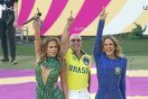 Jlo, Pitbull y Claudia Leitte encendieron la fiebre futbolera