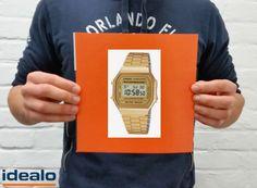 A Toni le gustaría que le regalaran este reloj Casio Collection (A168WG-9EF), disponible por 24,99 €, un 58,2% más barato en http://www.idealo.es/precios/4095305/casio-collection-a168wg-9ef.html