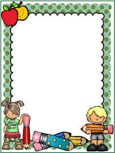 Borders For Paper Frame Border Design, Boarder Designs, Page Borders Design, Portfolio Kindergarten, School Binder Covers, School Border, Boarders And Frames, Portfolio Covers, School Frame