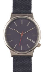 Komono - Wizard Heritage Watch - Silver/Navy Navy Flats, New Outfits, Jewlery, Watches, Silver, Stuff To Buy, Accessories, Boyfriend, Style