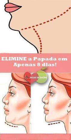 Como ELIMINAR a Papada em Apenas 8 dias! #dicasdesaúde, #dicas, #mulher, #papada, #emagrecer, #beleza, #fashion, #curadetox, #curanatural,